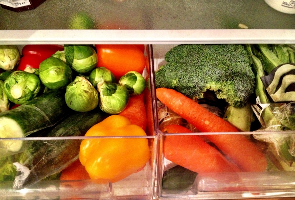 Vegetable drawer shopping list