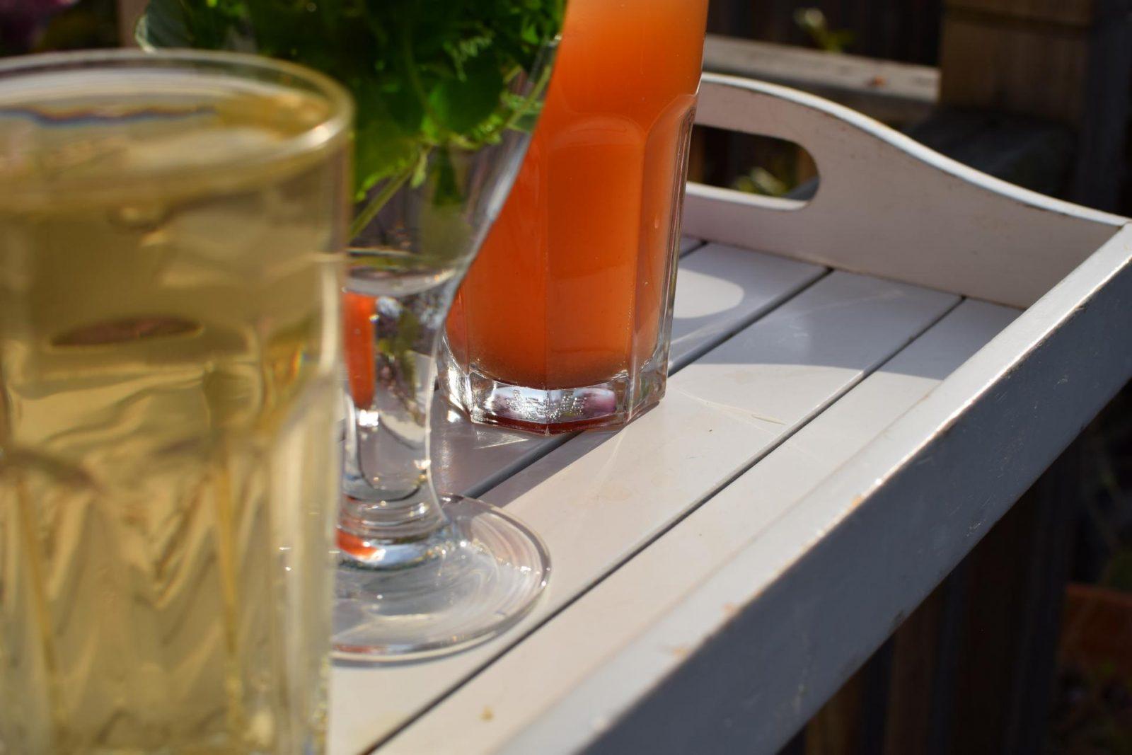 iced summer teas