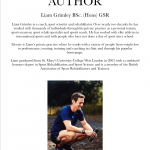 eat and move about author