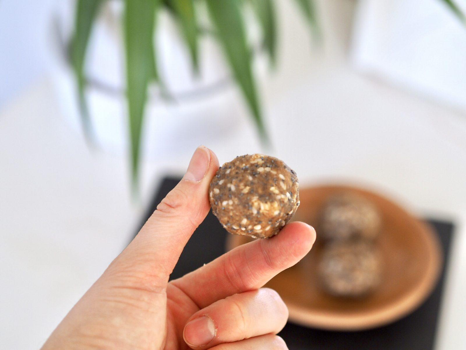 Amazeballs Recipe   Nutty Ginger Fat Burning Balls