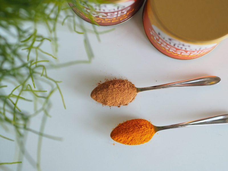 cinnamon turmeric fat shake