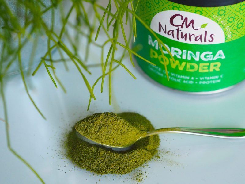 moringa chlorella fat shake